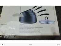 Boxed John Lewis Pan Set RRP £90