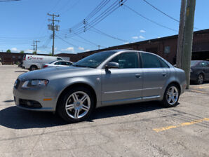 SOLD! AUDI A4 SLINE 2008 104000KM TOO LATE SOLD
