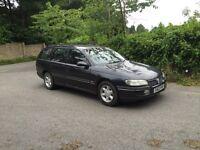 Vauxhall omega estate automatic 2.5 td Diesal 1 years mot Bmw engine
