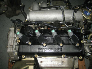 02 06 NISSAN ALTIMA SENTRA QR20DE 2.0L ENGINE REPLACEMENT OF 2.5