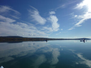 South facing 52 acres waterfront  land for sale on Green Lk,B.C.