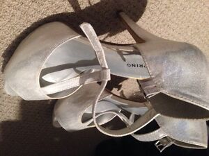 Adidas running shoes and silver heels Kitchener / Waterloo Kitchener Area image 4