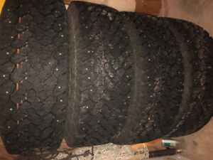 Winter studded tires and rims 265-717