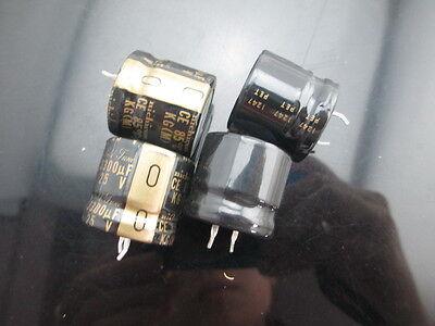 41512pcs Nichicon Kg Type I 3300uf 25v 2220mm Audio Electrolytic Capacitor