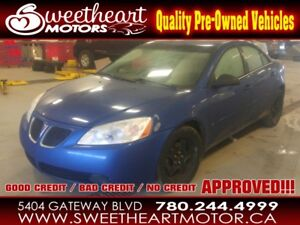 2007 Pontiac G6 4dr Sdn SE...in house me with $1000 down