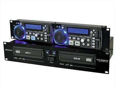 OMNITRONIC XMP-2800 MT Dual-CD-/MP3-Player mit Mastertempo-Funktion