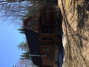 Cottage on miramichi river for rent