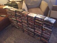 DVDs over 300 titles, sold as Job Lot