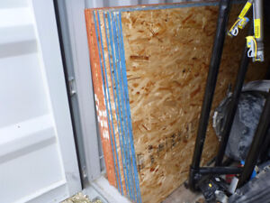 NEW 1/2 4x8 Oriented Strand Board OSB Sheets Plywood Sheathing