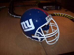 nfl replica giants football helmet for the man cave