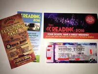 Reading weekend ticket