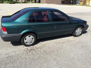 1999 Toyota Tercel Sedan