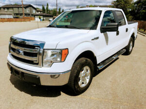 2013 Ford F-150 XLT Super Crew 4x4, No Accidents, Inspected 136K