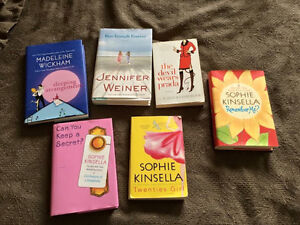 BOOKS! Sophie Kinsella, etc -REDUCED