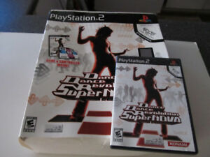 Dance, dance revolution Super Nova Play Station 2 pad and game
