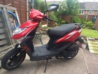Lexmoto FM50 Derestricted Moped/Scooter