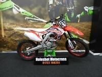 Honda CRF 450 Motocross Bike Talon wheels clean example