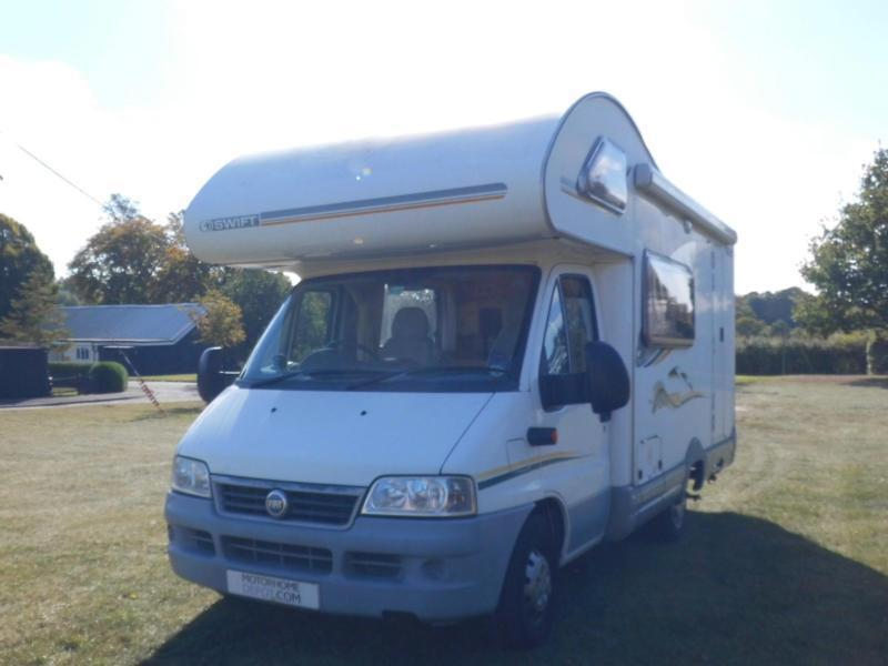 Swift Suntor 590 RS End Kitchen 4 Berth Motorhome For Sale