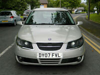 2007 Saab 9-5 2.3 HOT Aero 5dr WITH FSH+LEATHER+260BHP