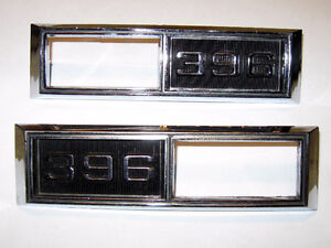 68 Chevelle 68 69 Nova Super Sport 396 side marker light bezels Edmonton Edmonton Area image 1