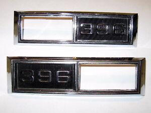 68 Chevelle 68 69 Nova Super Sport 396 side marker light bezels