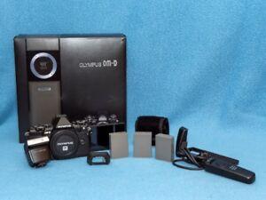 Appareil Olympus E-M5 Mark II (boitier noir seulement)