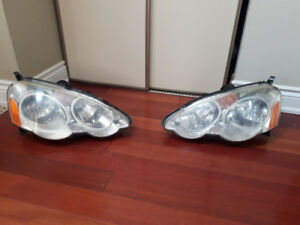 Used Headlight for Acura RSX 2002-2004 1 Pair OEM