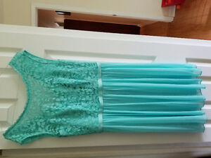 Bridesmaid Dress Color Spa Size 10- Make me an offer:)