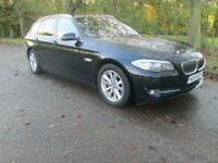 BMW 5 SERIES 520d Touring Step Auto 520 SE Black 1 Former Keeper Black Semi-Auto