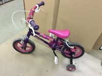Girls 11 inch bike
