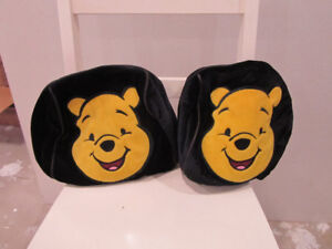 Winnie the Pooh Headrest covers