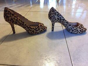 Women's leopard heels size 7 West Island Greater Montréal image 1