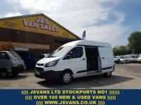 2014 FORD TRANSIT CUSTOM LONG HITOP 2014/14 REG CUSTOM ON PRIVATE PLATE DIESEL