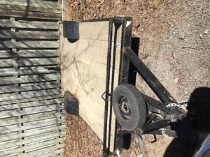 Flat bed trailer 5x8