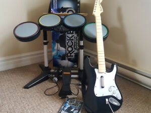 Rock Band Complete Set and Game