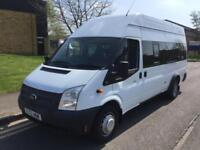 2012 Ford Transit 13 Seater Mini Bus Minibus Manual Minibus