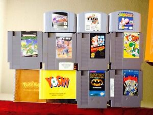 N64 and NES Games!