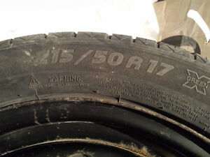 Michelin Pilot Alpin 217/50R17 West Island Greater Montréal image 2