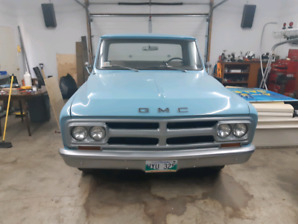 1968 GMC short box step side
