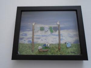 "Handmade Original Framed Art 8""x 10"" #5"