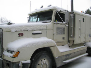 1989 Freightliner FLD 120 425HP mechanical Cat, 8LL trans,12&40s