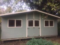 20ft x 10ft summerhouse, shed, office, garden building