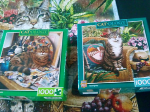 THREE CATOLOGY PUZZLES