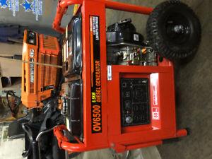 Brand new 5000 watt diesel generator