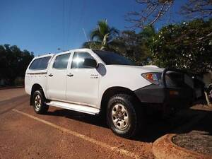 2006 Toyota Hilux 4wd dual cab 177000kms Broome Broome City Preview
