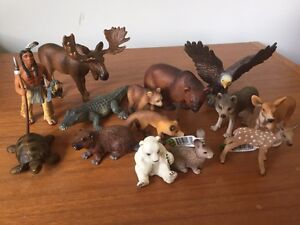 Schleich 14 toy figures