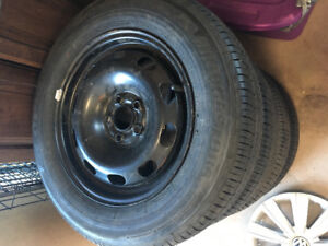 Four Brand New tires/rims/hubs
