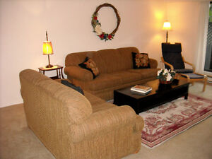 LARGE THREE BEDROOM FULLY FURNISHED APARTMENT
