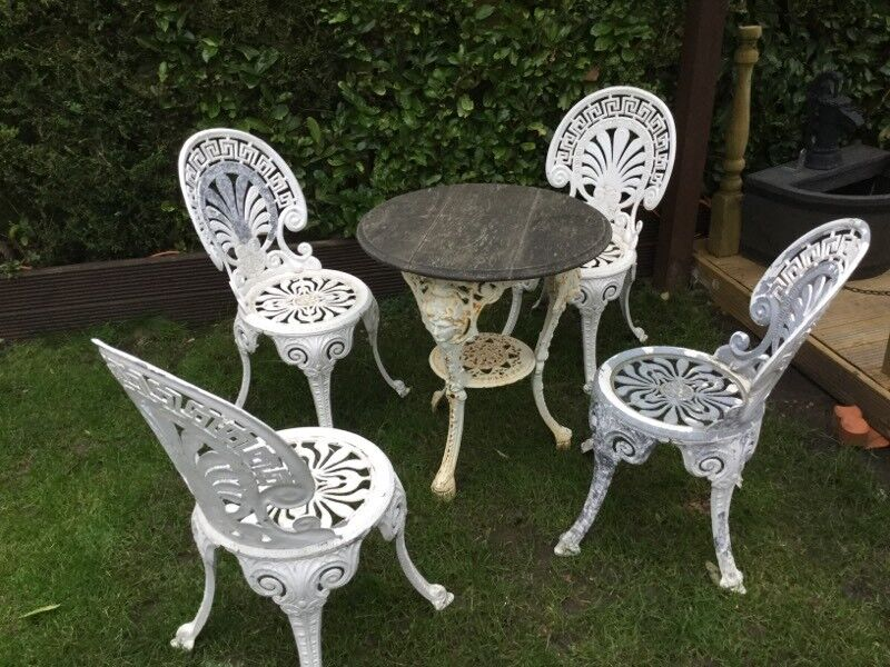garden table and chairs rustic - Garden Furniture Kings Lynn
