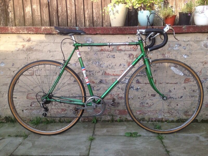 Falcon Vintage Retro Mens Road Bike 22 Inch Frame 5 Speed